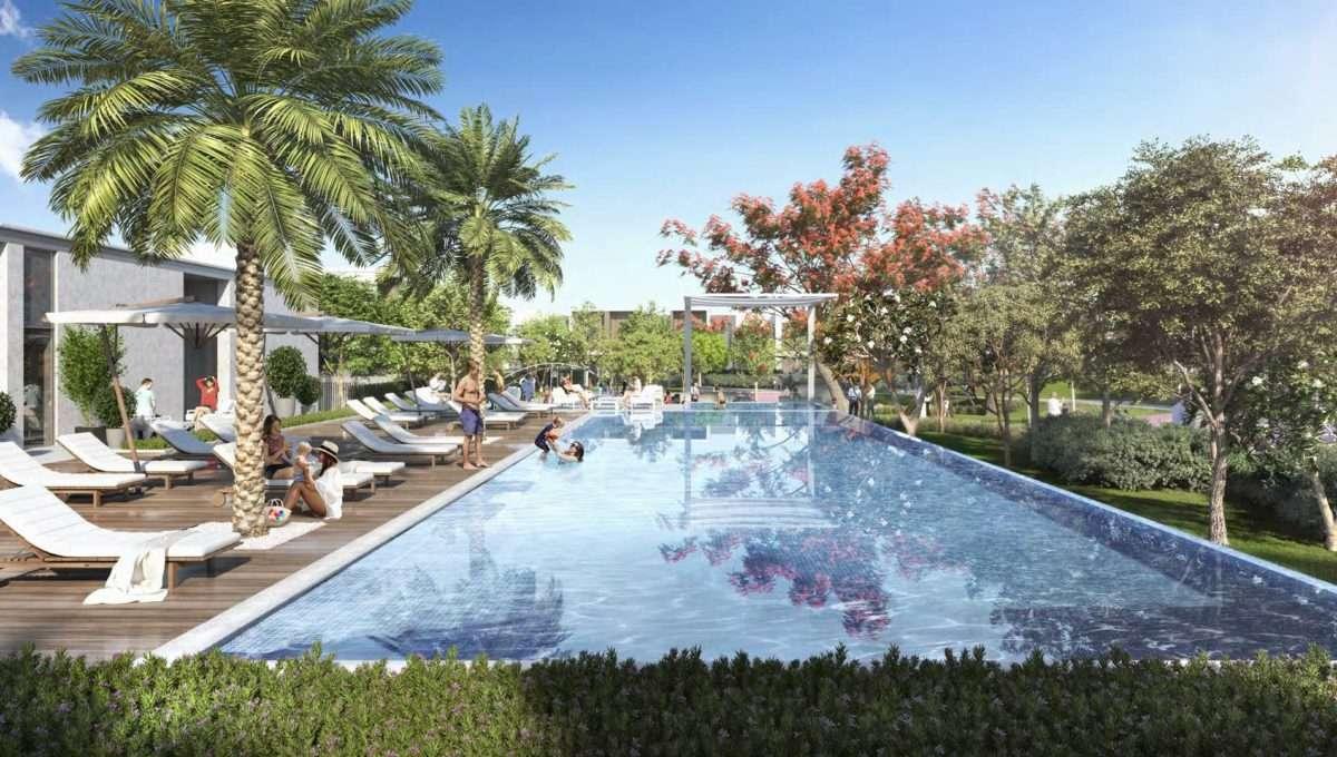 Poolbereich Dubai Arabian Ranches 3