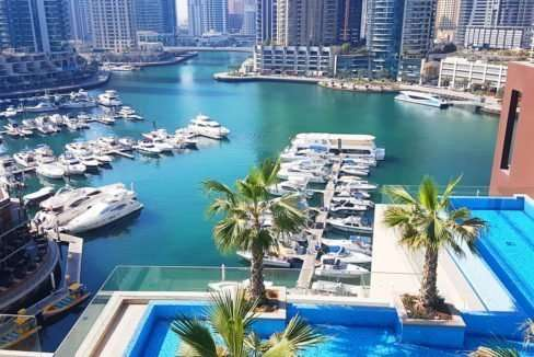 Dubai Marina von Marina Gate II