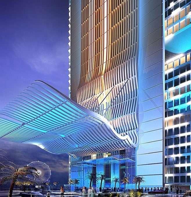 Eingangsbereich 1JBR Dubai Properties