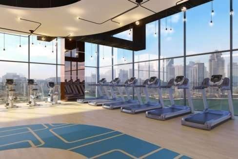 Marina Gate II Fitness Centre mit Ausblick