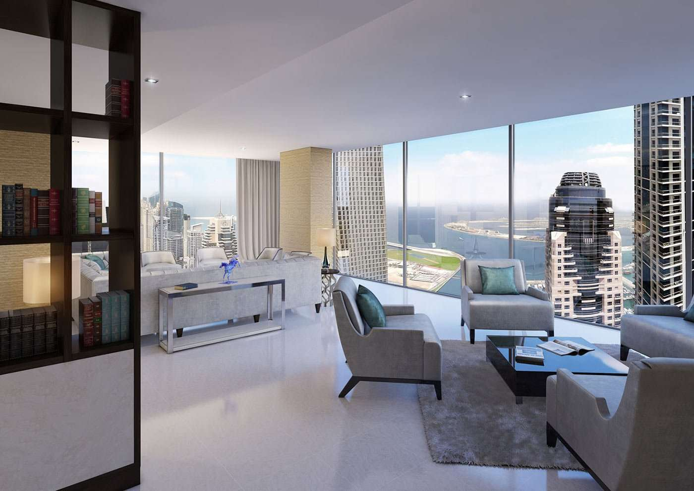 The Residences at Marina Gate II – 2-Bedroom Apartments