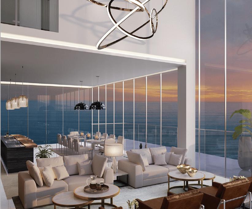 Penthouse-Interieur in 1JBR
