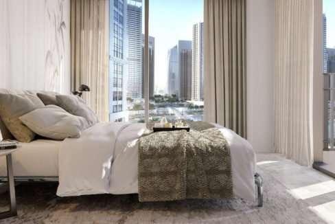 Innenansicht Schlafzimmer - Dubai Creek Beach