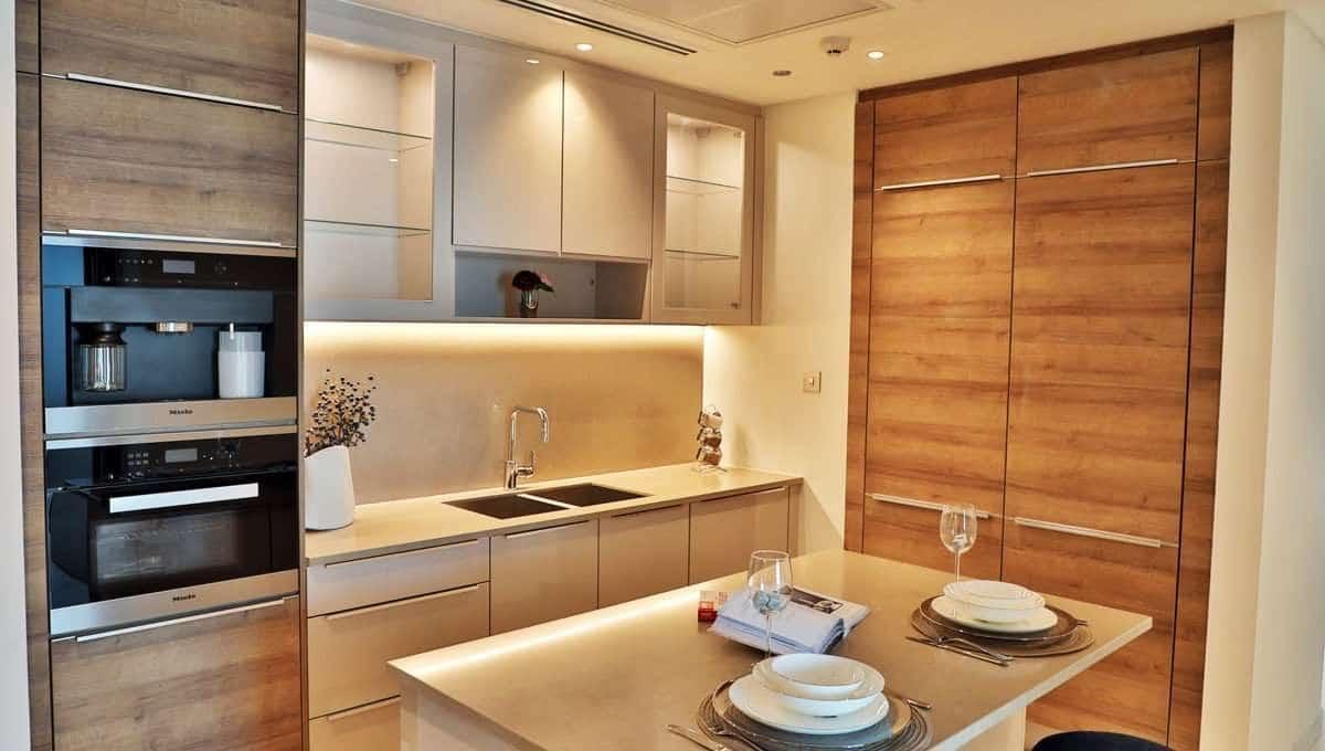 Innenansicht Küche Marina Gate II