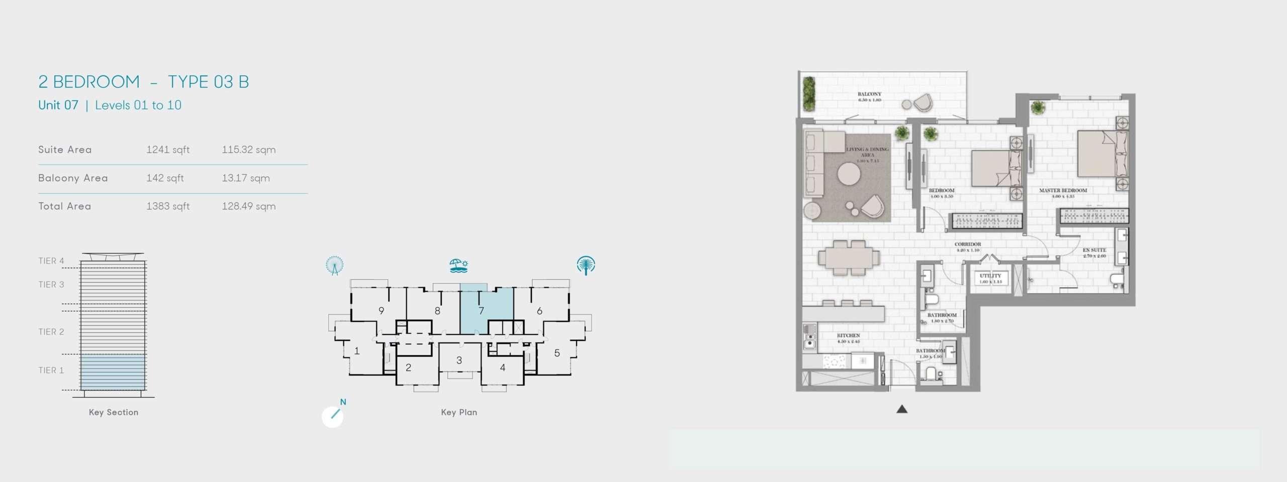 2-Bedroom Typ 03B
