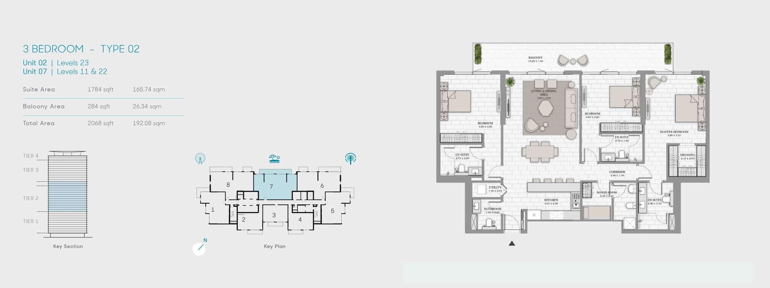3-Bedroom Typ 02