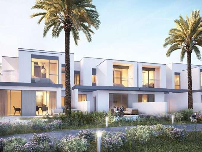 Außenansicht Townhouse Dubai Hills Maple III