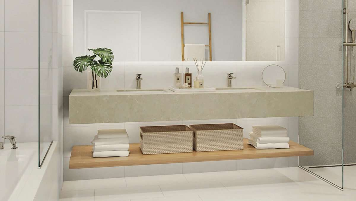 Badezimmer Dubai La Vie Wohnung