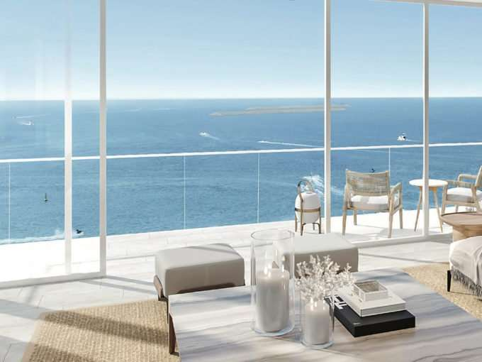 Immobilie Dubai La Vie JBR Meerblick