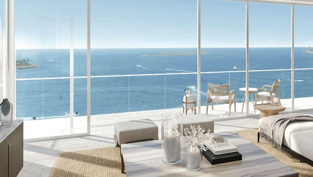 Wohnung Dubai La Vie Wohnzimmer