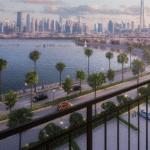 Dubai Apartment Port de la Mer La Voile Blick auf Downtown