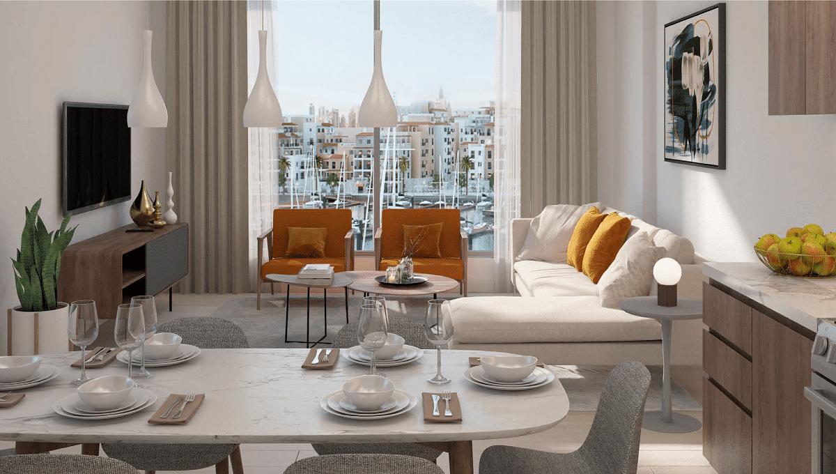 Dubai Port de la Mer Wohnung Apartment Interieur