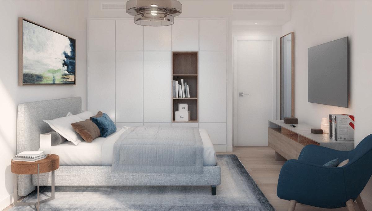 Dubai Port de la Mer Wohnung Apartment Interieur Schlafzimmer