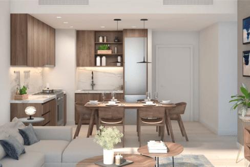 Dubai Port de la Mer Wohnung Apartment Interieur Wohnzimmer
