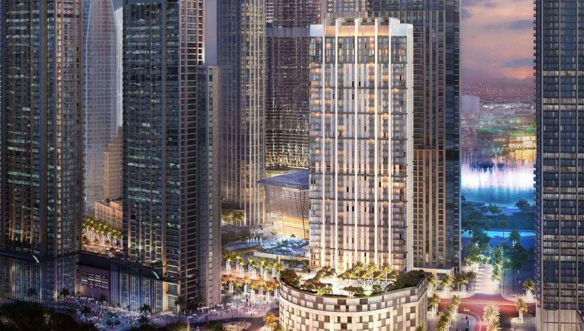 Apartmenthaus Burj Crown by Emaar Außenansicht