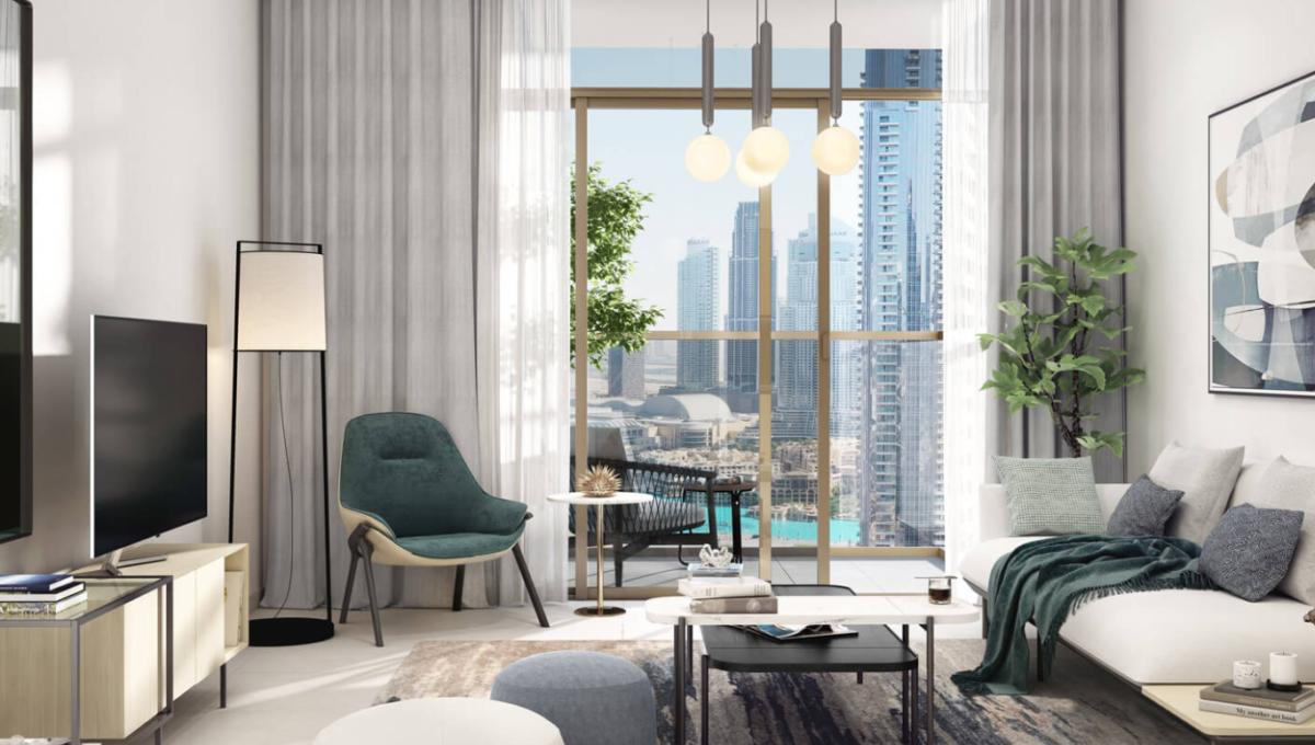 Wohnung in Dubai Burj Crown Interieur design