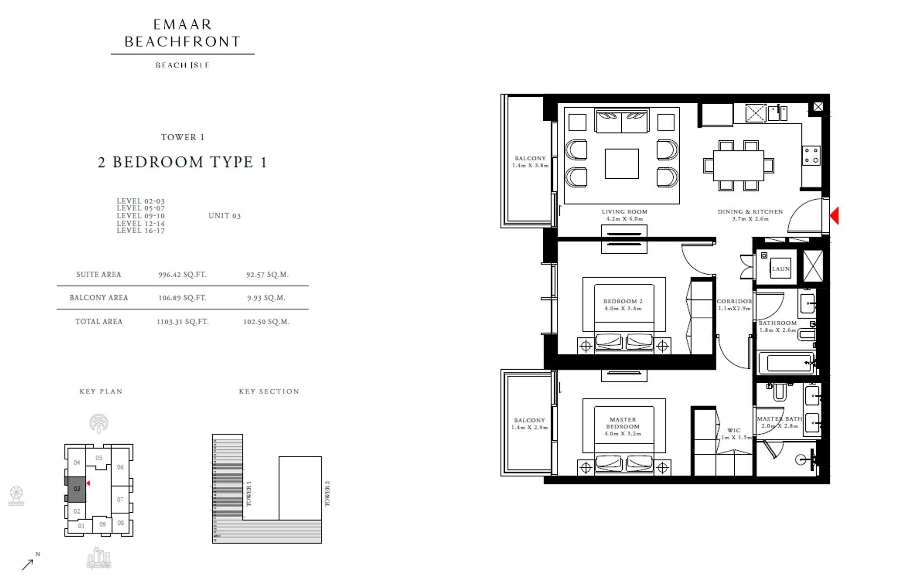 2-Bedroom Apartment Typ 1 03