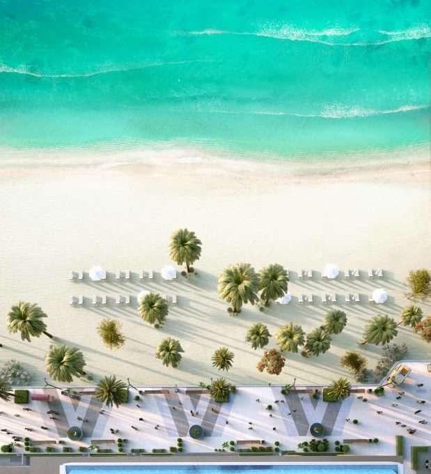 Beach Isle Emaar Wohnung Strand und Poolblick