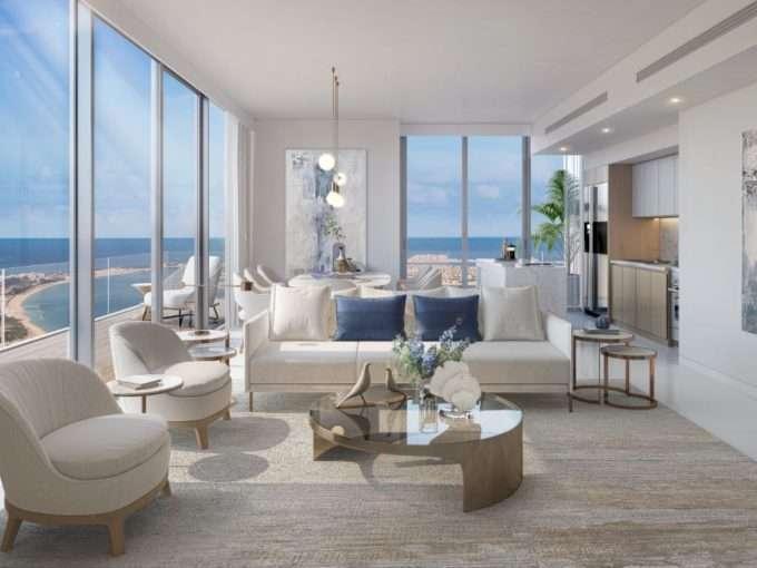 Apartment Dubai Beach Isle Interieur Design