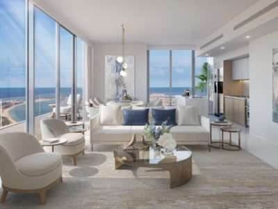 Apartment Dubai Beach Isle Interieur Design