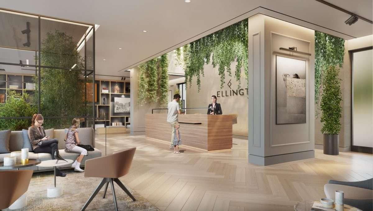 Wilton Park Residences - lobby