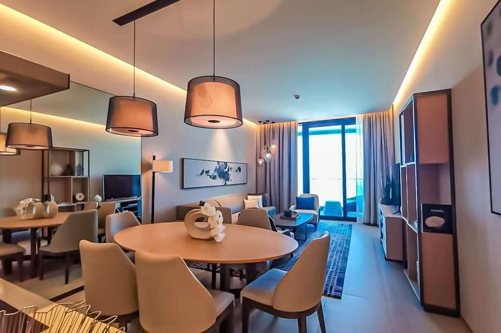 Wohnbereich The Address Jumeirah Resort & Spa