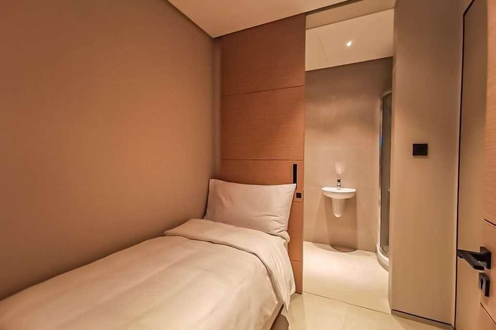 The Address Immobilie Dubai Schlafzimmer und Badezimmer