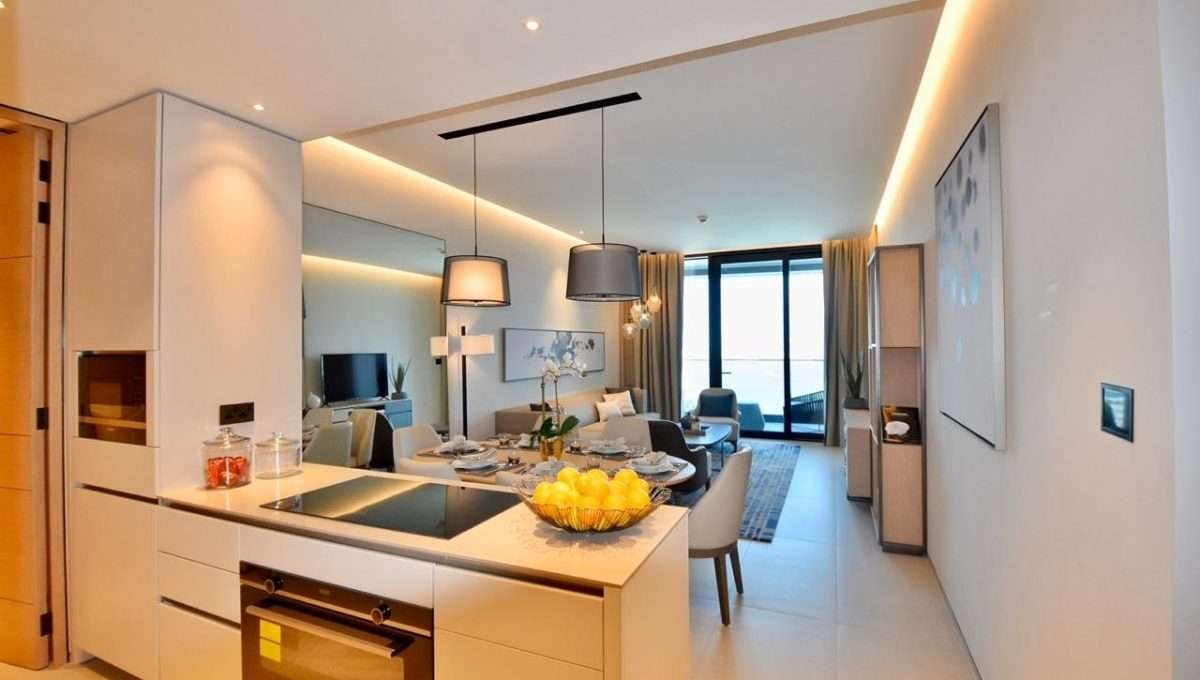 Ausstattung Wohnzimmer Immobilie The Address Jumeirah Resort & Spa