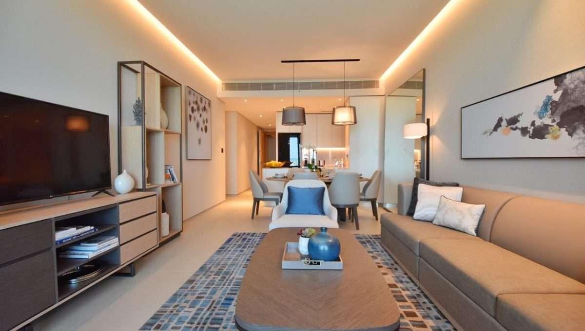 2-Bedroom Apartment Wohnzimmer