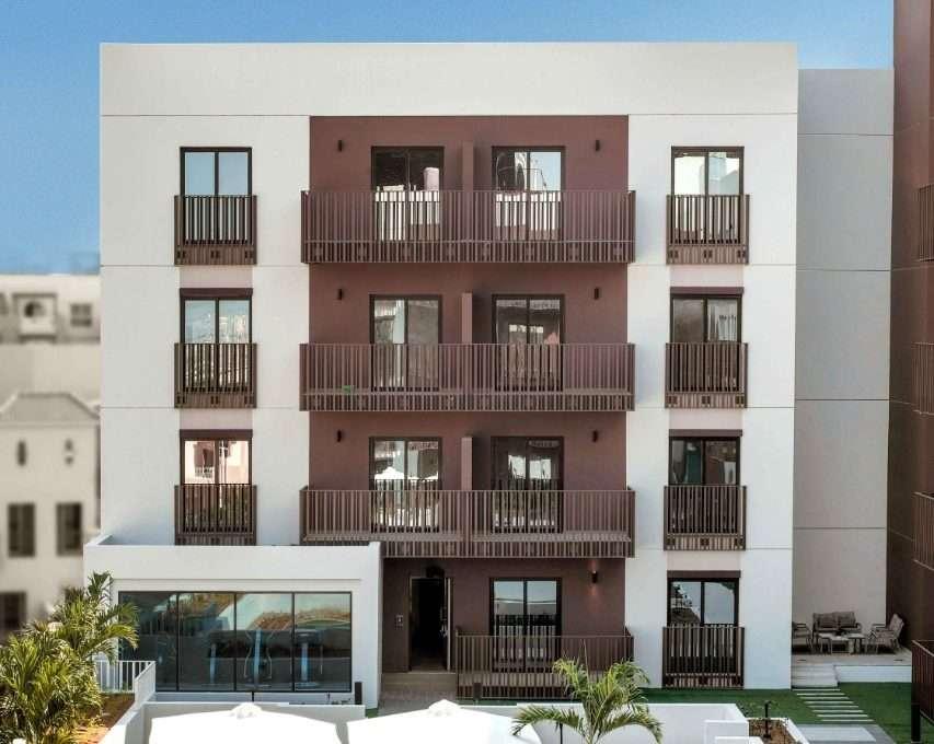 Außenbereich und Pool Eaton Place Jumeirah Village Circle