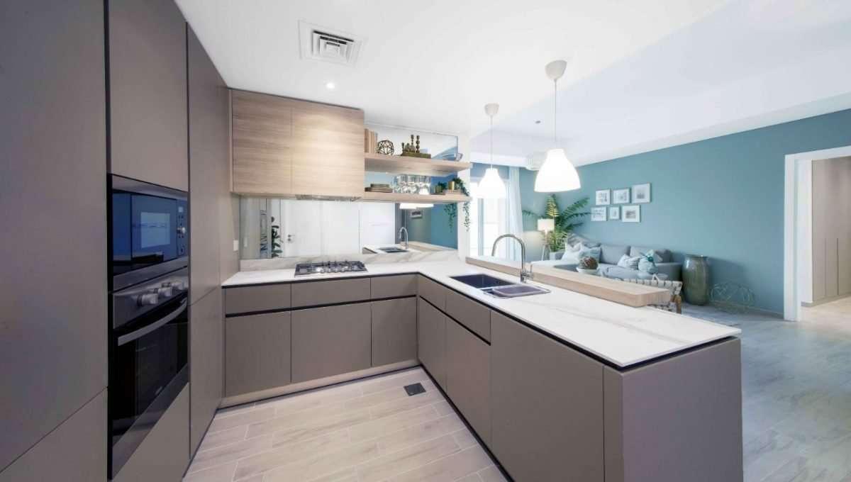 Küche 1-Bedroom-Wohnung Eaton Place Dubai