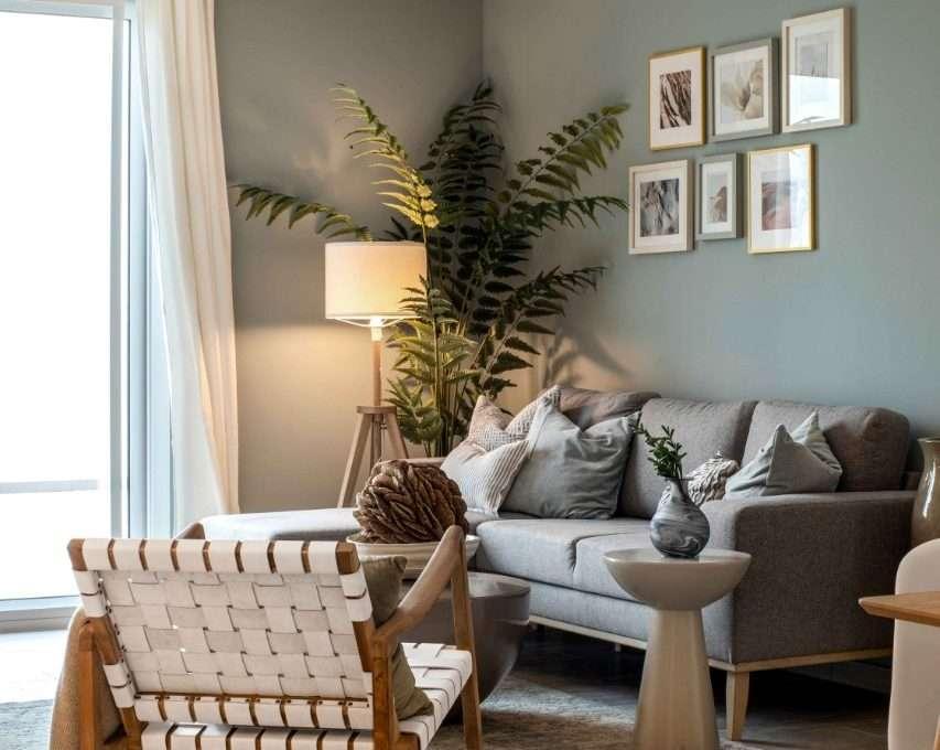 Apartment Eaton Place Dubai - Wohnzimmer