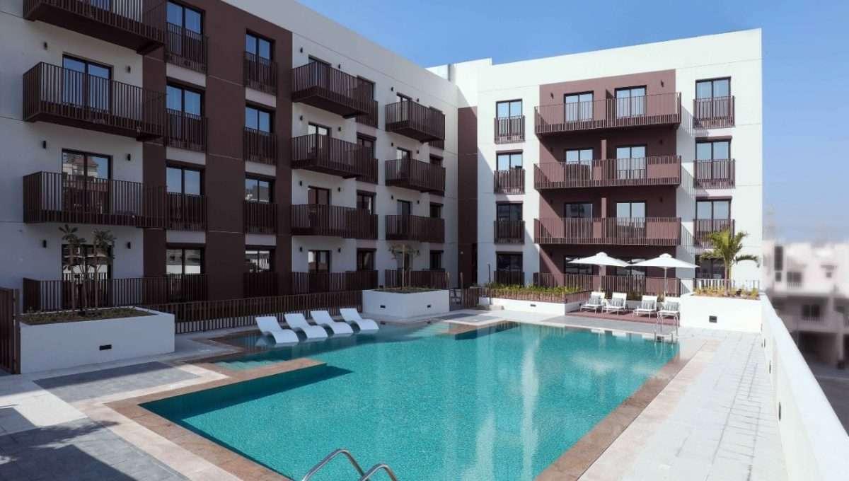 Immobilie Eaton Place Dubai - Pooldeck