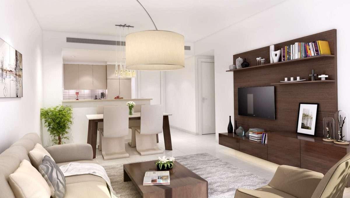 Townsquare Dubai Immobilie Innenansicht Apartment 3