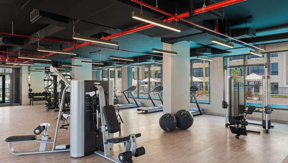 Immobilie UNA Dubai Fitnessraum
