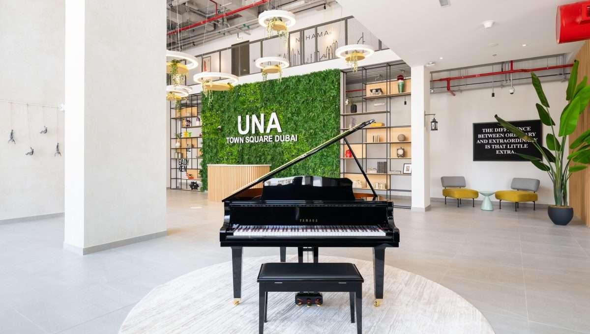 Immobilie UNA Dubai Lobby 1