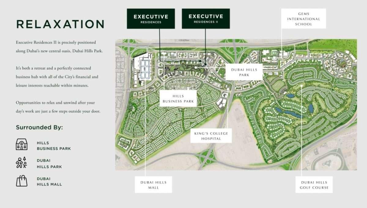 Masterplan Green Square Community Dubai
