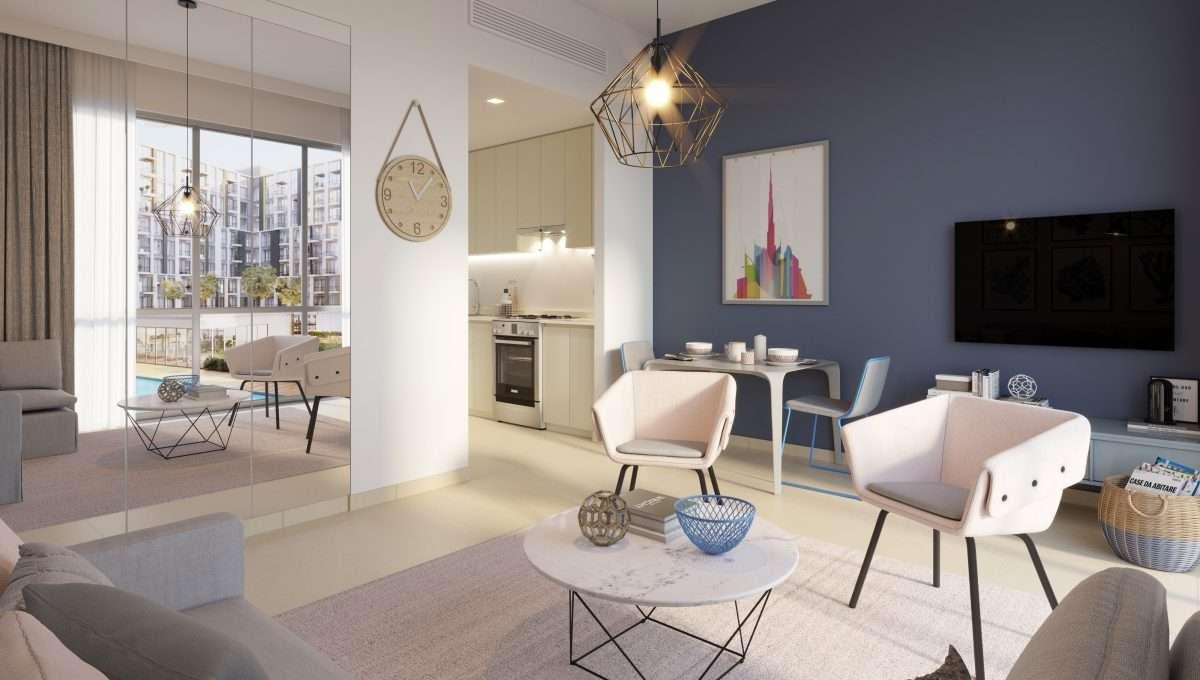 Town Square Studio Wohnung Dubai