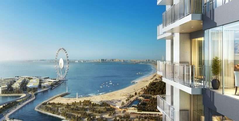Immobilie in Dubai Marina mit Strandblick
