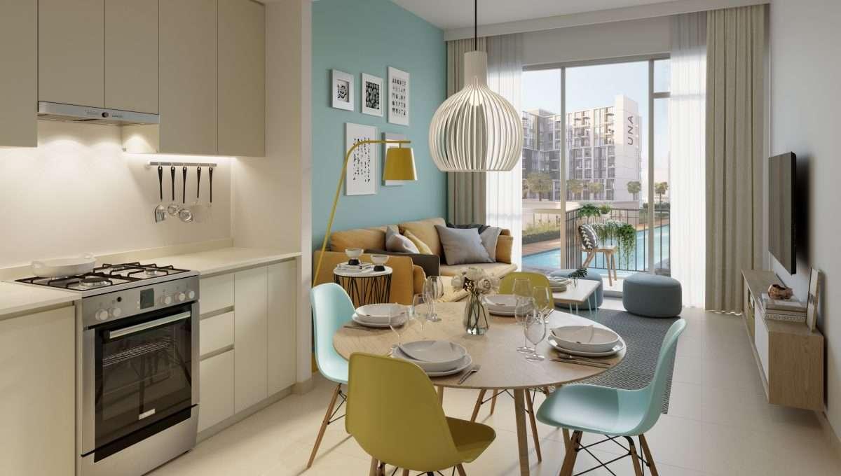 Wohnung Küche Immobilie UNA Dubai
