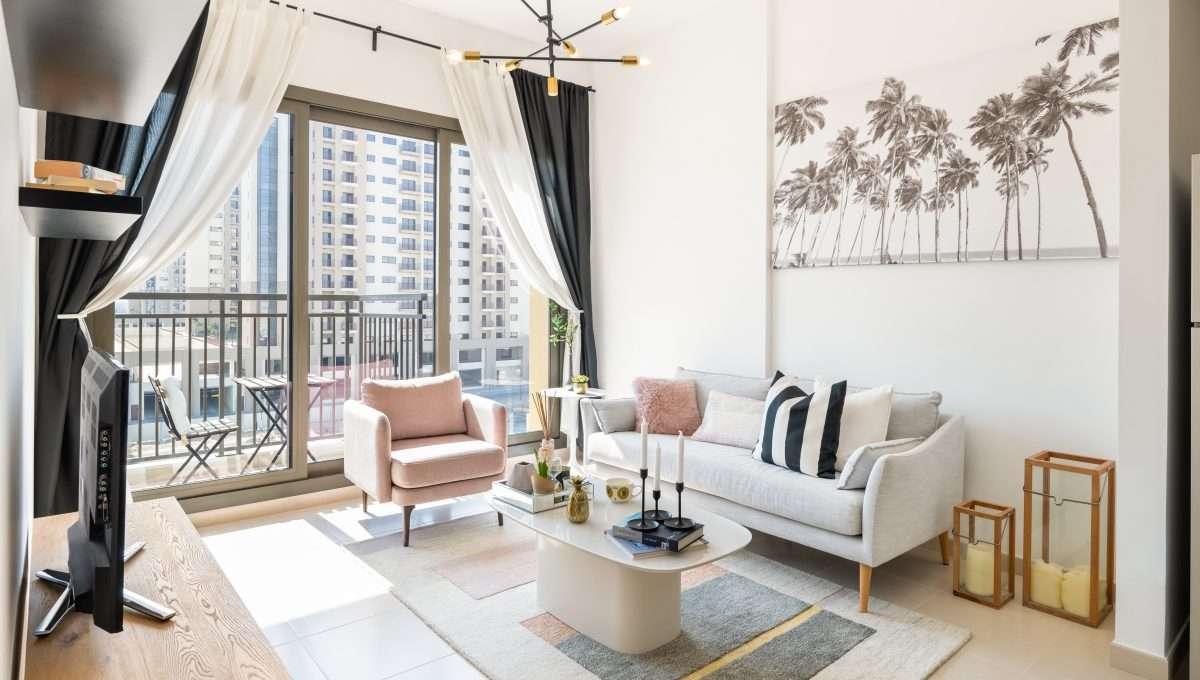 Wohnung UNA Dubai Wohnzimmer