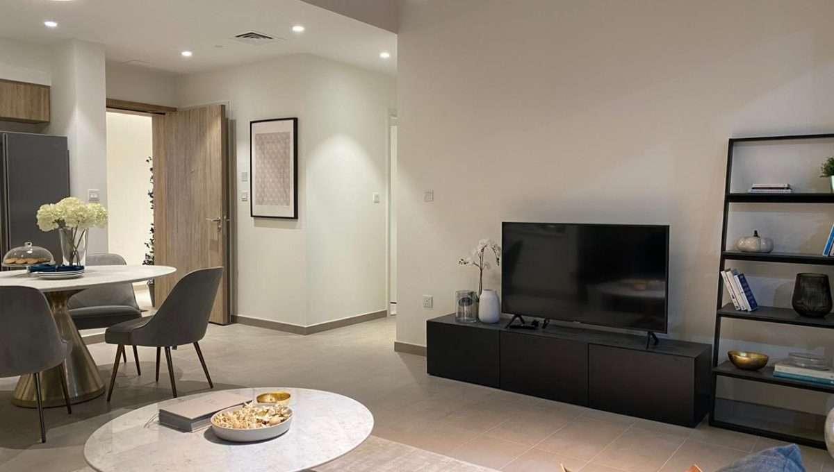 Wohnzimmer Apartment Dubai Hills