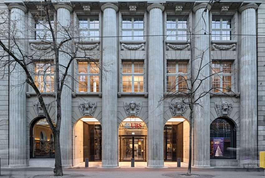 UBS Bank in Zürich (Schweiz)