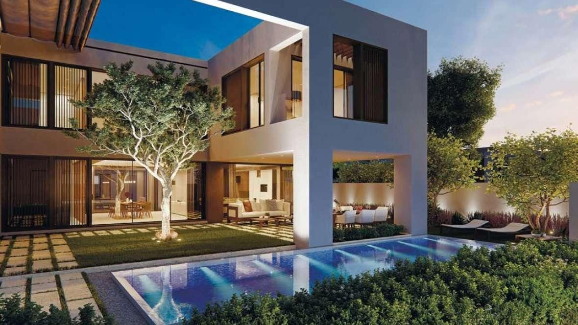 Dubai Harmony Villas Garten