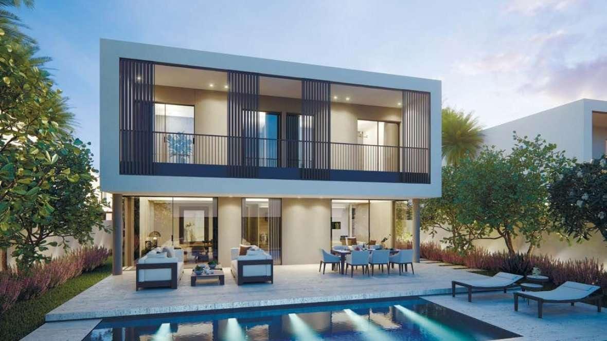 Außenansicht Dubai Immobilie Harmony