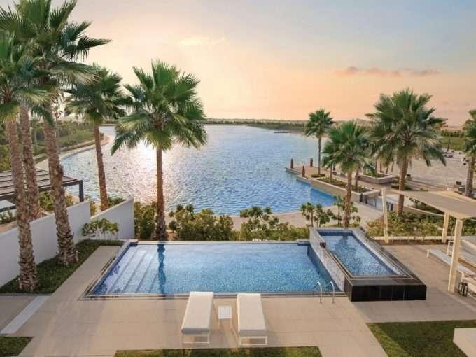 Lagune in Dubai Tilal al Ghaf