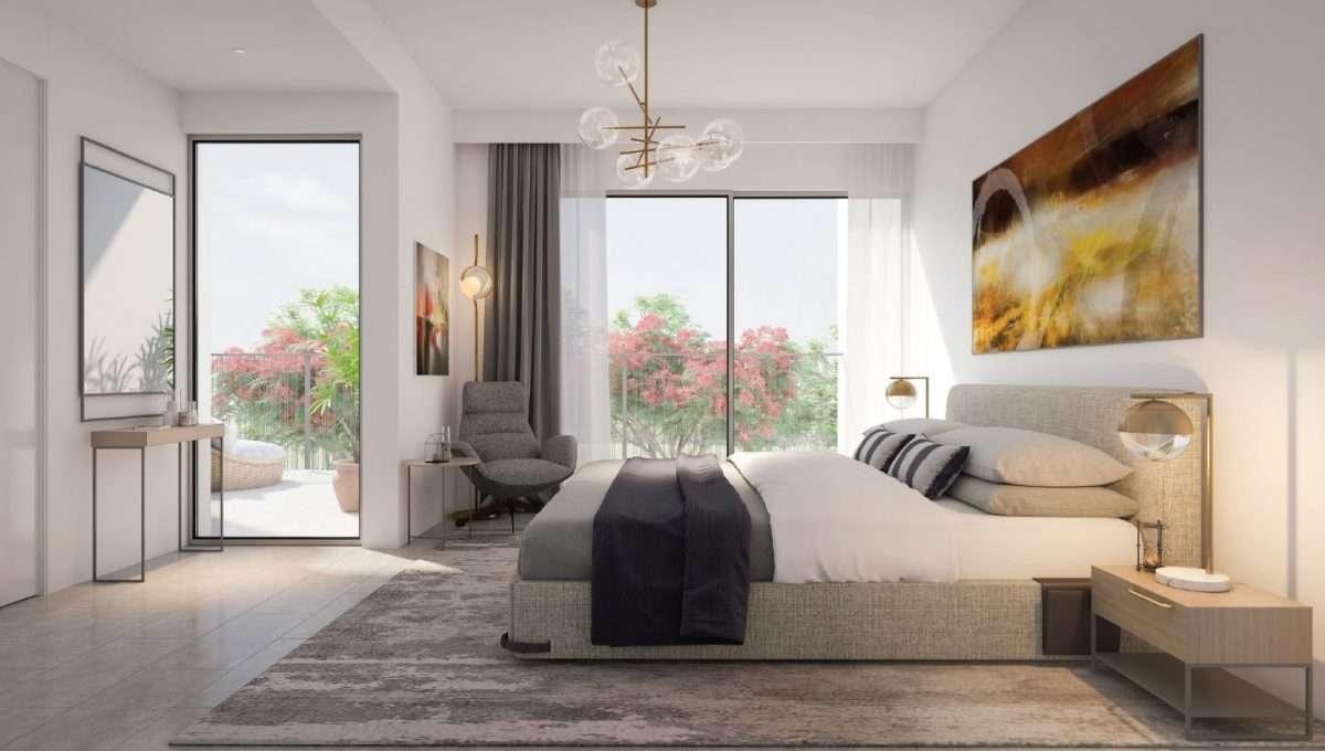 Schlafzimmer 5-Bedroom Villa Immobilie Tilal al Ghaf Dubai