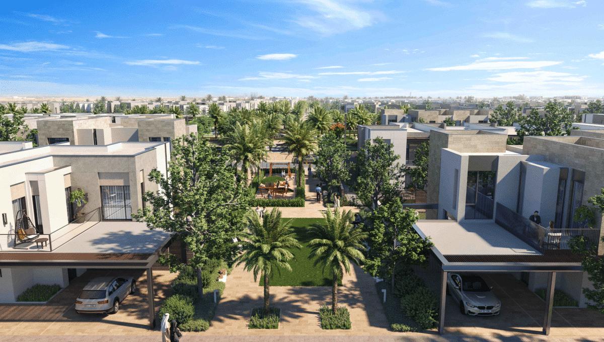 Arabian Ranches 3 Dubai Immobilien Aussenansicht