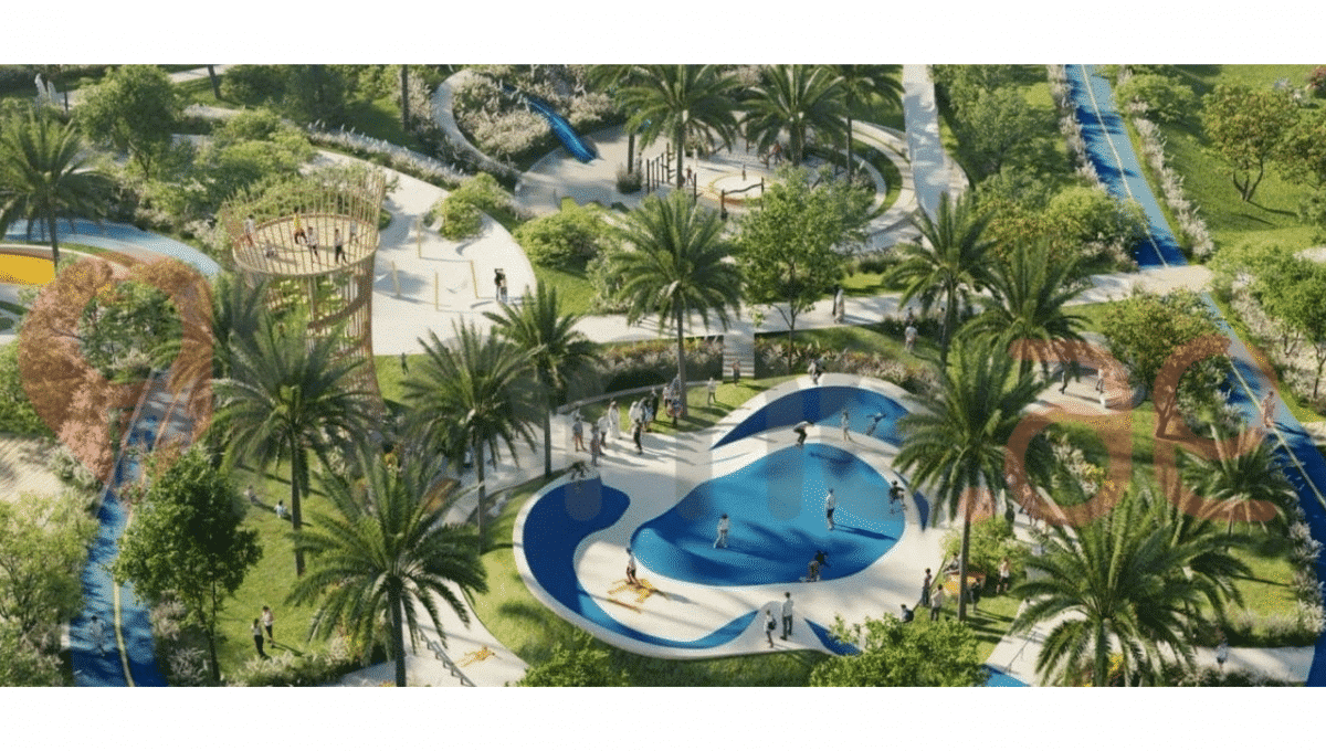Arabian Ranches Park Immobilien und Wasser