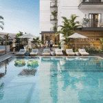 Poolbereich Immobilie Dubai JVC